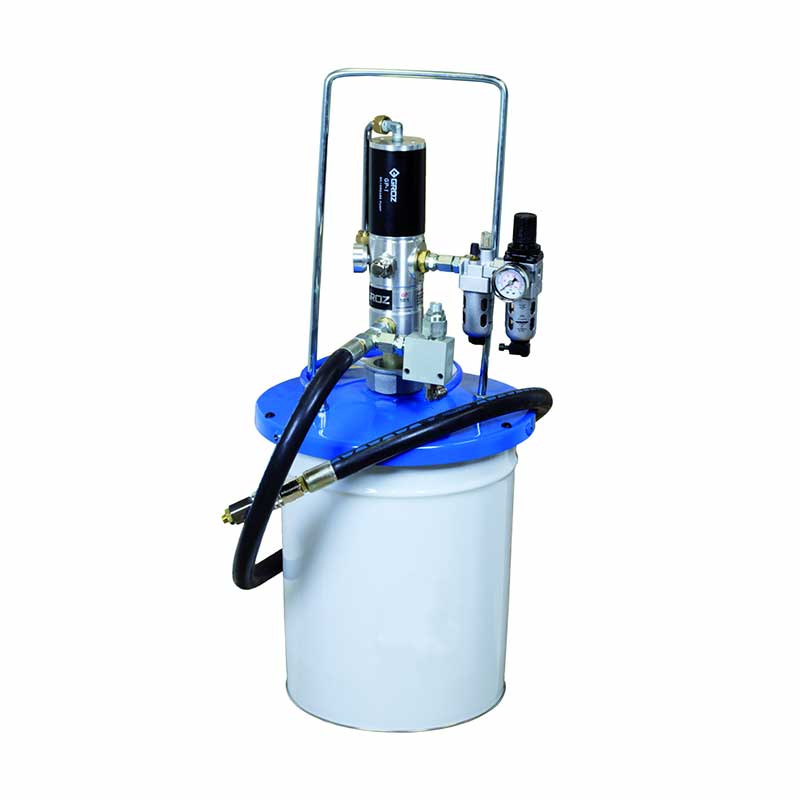 Pneumatic Grease filler pump for central lubrication system 16-20 kg